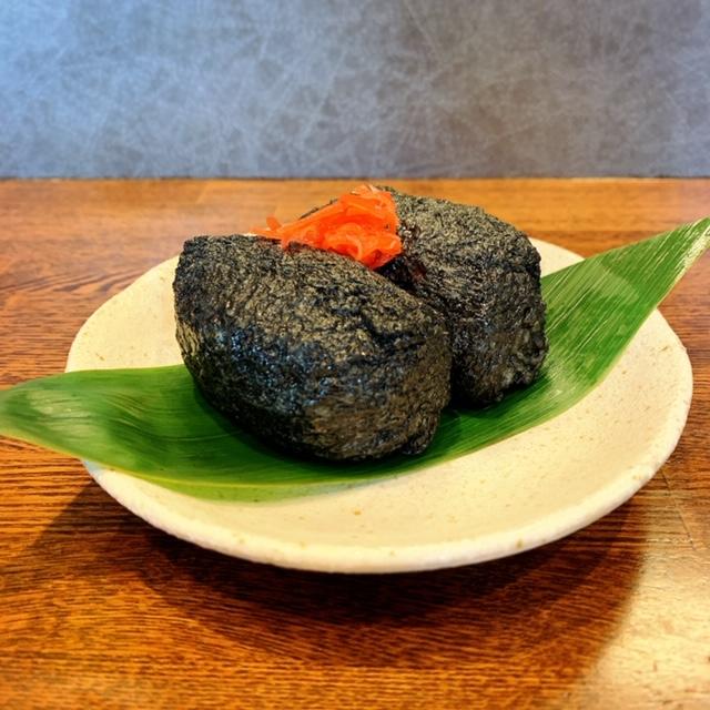 中華蕎麦きつねの数量限定「黒炭稲荷」を食べてみた♪の画像