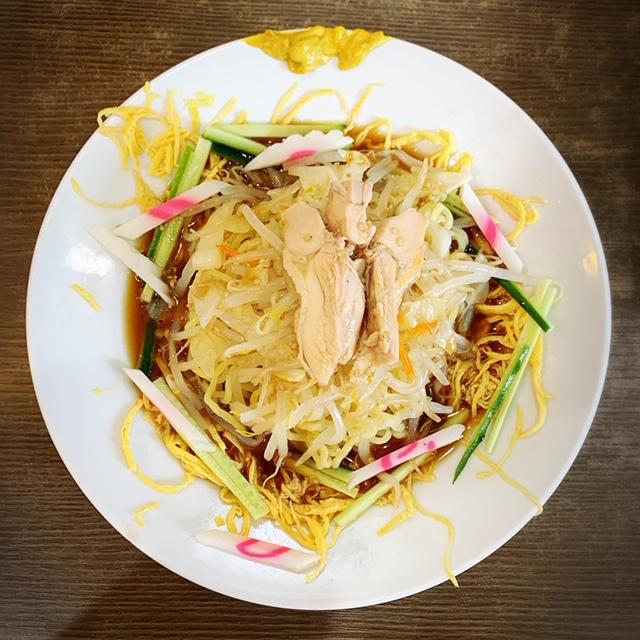 目黒・不動前の中華の名店「味一」さんで冷し中華を食べてみた!①の画像